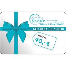 40 € Gutschein von Schön & Schöner