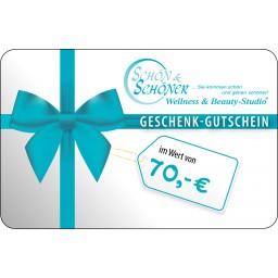 70 € Gutschein von Schön & Schöner