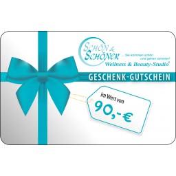 90 € Gutschein von Schön & Schöner