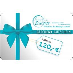 120 € Gutschein von Schön & Schöner